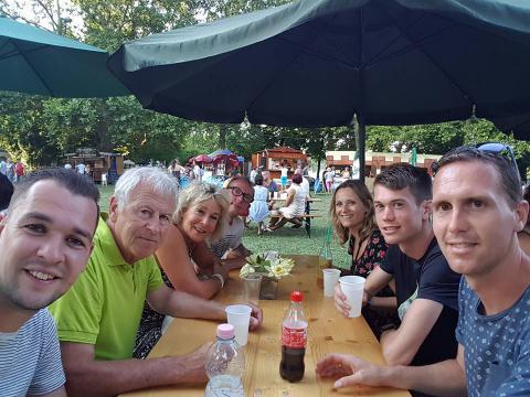 Az alkmaari csapat a Minimaraton után