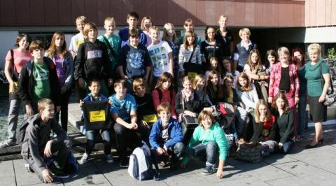 """""""Kőkútis"""" diákok csereprogramja a barátság jegyében"""