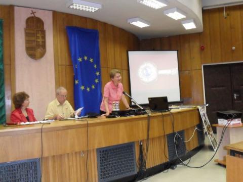 Dr Éva Fülöp director of Kuny Domokos County Museum