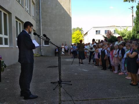 Rigó Balázs alpolgármester köszöntője.