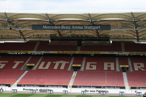 Mercedes-Benz Arena (Stuttgart) VfB Stadion
