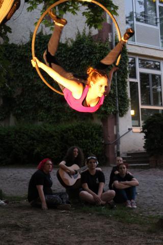 A tatai Talentum Iskola és a gerlingeni Robert Bosch Gimnázium diákjainak közös táborozása Németországban