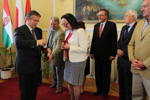 Alina Pełka díszpolgári címet kap