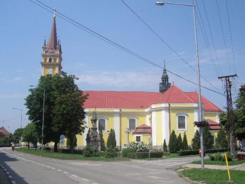 Magyarkanizsa római katolikus templom