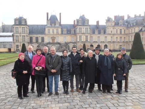 Új évi jókívánságok és polgármesteri búcsúzás Tata francia testvérvárosában